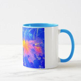 Ahorn-Blattentwurfs-Tasse Tasse