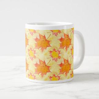 Ahorn-Blätter Jumbo-Tasse