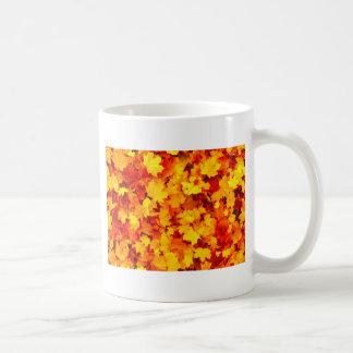 Ahorn-Blätter Kaffeetasse