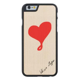 Ahorn-Handyfall Carved® iPhone 6 Hülle Ahorn