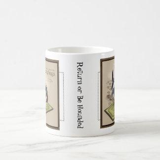 Ahorn-Straßen-Dachshund-Tasse Kaffeetasse