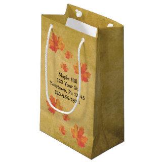 Ahorn verlässt Ahorn-Sirup-Tasche Kleine Geschenktüte