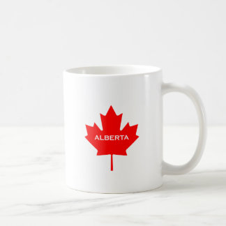 Ahornblatt Albertas Kanada Kaffeetasse