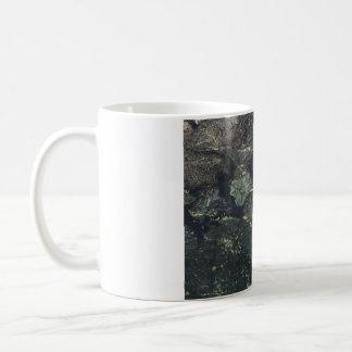 Ahornblatt im Wasser Kaffeetasse