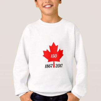 Ahornblatt Kanadas 150 im Jahre 2017 Sweatshirt