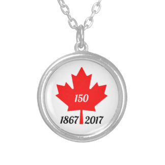 Ahornblatt Kanadas 150 im Jahre 2017 Versilberte Kette