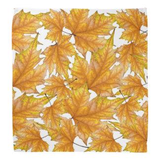 Ahornherbst-Blätter Kopftuch