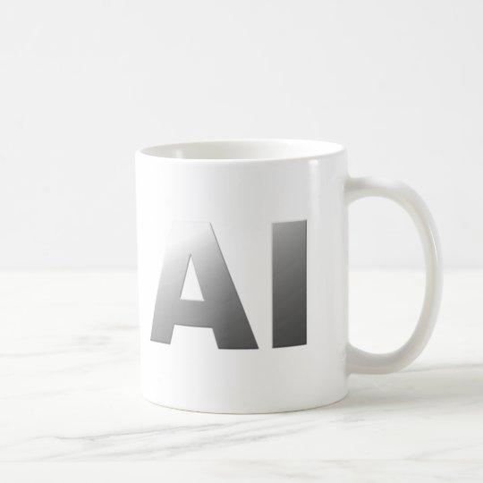 AI artificial intelligence Kaffeetasse