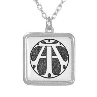 Ai-Münzen-Monogramm in den gotischen Buchstaben Amuletten