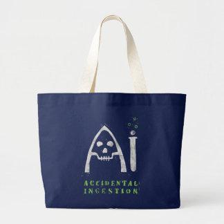 Ai-Taschen-Tasche (dunkel) Jumbo Stoffbeutel