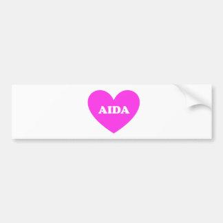 Aida Autoaufkleber