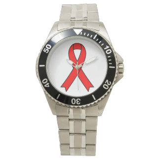 AIDS Bewusstseins-Armbanduhr Armbanduhr