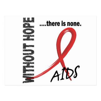 AIDS ohne Hoffnung 1 Postkarte