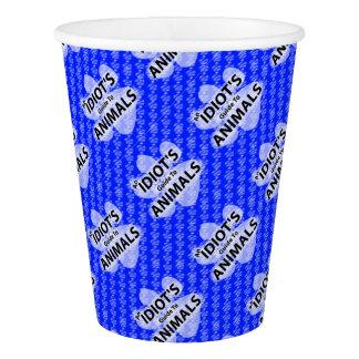 AIGTA Podcast blaues Logo-Papierschale Pappbecher