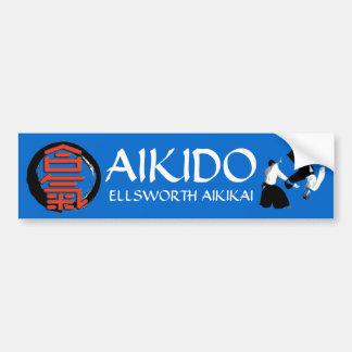 Aikido Ellsworth Aikikai Autoaufkleber