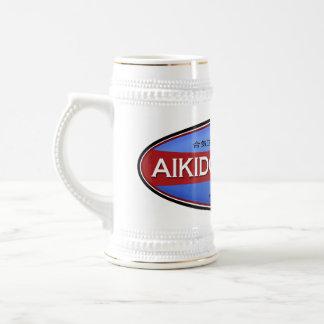 Aikido-Geschäft Stein Bierglas