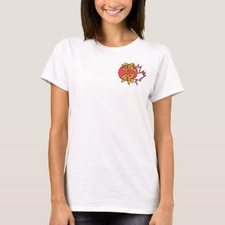 Aikido-Kanada-Spaghetti-Bügel-Shirt T-Shirt
