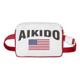 Aikido Vereinigte Staaten kennzeichnen Gürteltasche