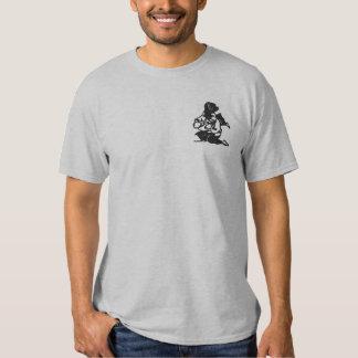 aikidothrowdst besticktes T-Shirt