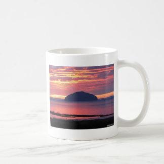 Ailsa Craig Sonnenuntergang Kaffeetasse