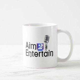 AIM 2 UNTERHALTEN KAFFEETASSE