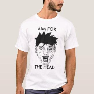 AIM FÜR DEN HAUPTzombie T-Shirt