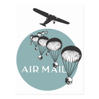 Air Mail Postkarte