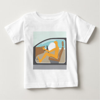 Airbag an baby t-shirt
