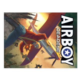 Airboy: Deadeye #1 Abdeckungs-Postkarte Postkarte
