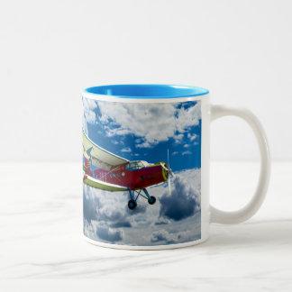 Aircraft Mug Zweifarbige Tasse