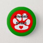 Airedale terier runder button 5,1 cm