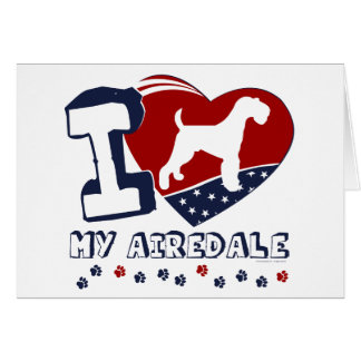 Airedale Terrier [ADT] Karte