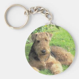 Airedale Terrier Keychain Schlüsselanhänger