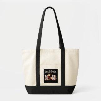 Airedale-Terrier-Mamma-Taschen-Tasche Tragetasche