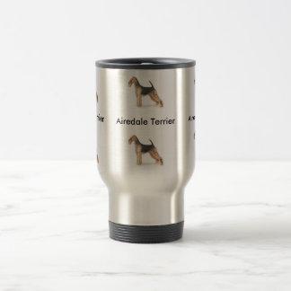 Airedale Terrier Reisebecher