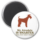 Airedale Terrier Runder Magnet 5,1 Cm