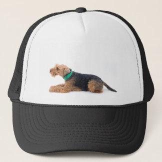 Airedale Terrier Truckerkappe