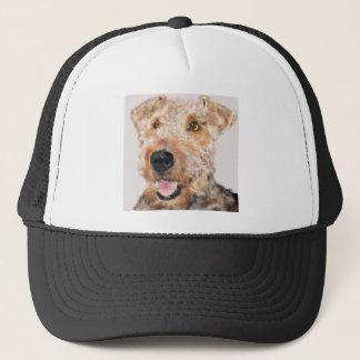 Airedale-Terrier Truckerkappe