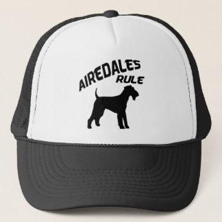 Airedales-Regel Truckerkappe