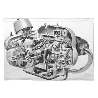Airhead-Cutaway Tischset