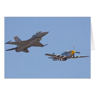 airshow f-16 u. p-51 karte