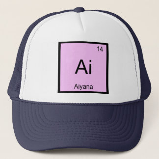Aiyana Namenschemie-Element-Periodensystem Truckerkappe
