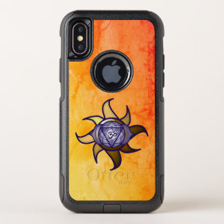 "Ajna Chakra ""drittes Augen-"" Yoga Otterbox iPhone OtterBox Commuter iPhone X Hülle"