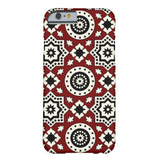 Ajrak Muster Iphone Fall Barely There iPhone 6 Hülle