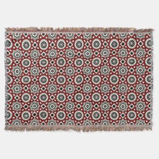 Ajrak Stammes- Muster-Wurfs-Decke Decke