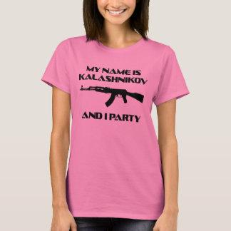 AK47-KALASCHNIKOW-PARTY AK-47 T-Shirt