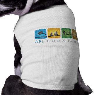 AK Kinder-u. Familien-Hündchen-T-Stück Shirt