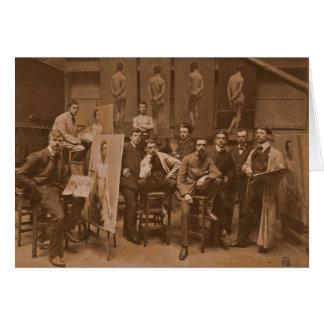 Akademie von Antwerpen 1907 Karte