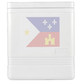 Akadische Cajun Flaggen-kundenspezifischer Kühlbox