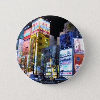 Akihabara (elektrische Stadt) in Tokyo, Japan Runder Button 5,1 Cm